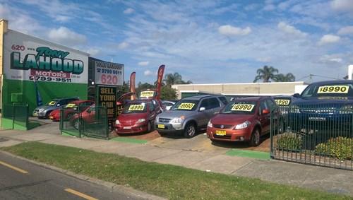 Used Cars Sale Macarthur, Sydney - Tony Lahood Motors - Lidcombe Yard